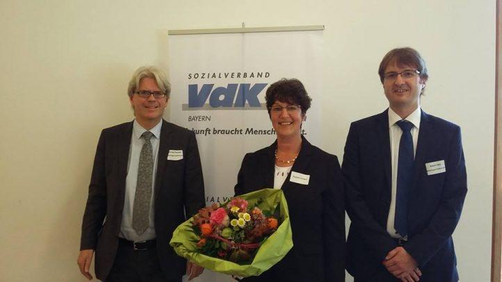 Wahl zur 1. Kreisvorsitzenden des VdK Oberland