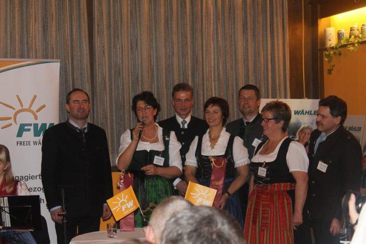 Neujahrsempfang 2016 Freie Wähler Weilheim-Schongau