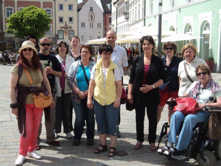 Barrierefreie Stadtführung in Weilheim