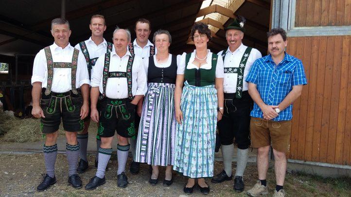 FW Kreisvorstände beim BDM Milchbauerntag in Deutenhausen
