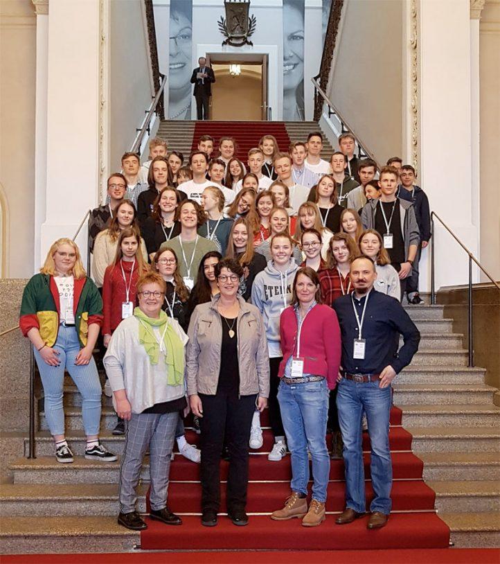 Besuch im Bayerischen Landtag